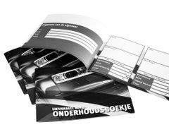 Exclusive Car Concept onderhoudsboekje