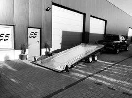 Exclusive Car Concept verhuur autotrailer